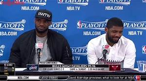 Reporter Asks LeBron James To Throw Teammate Kyrie Irving ...