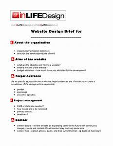 web design brief template With house design brief template for architect
