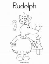 Coloring Rudolph Noodle Twisty Template Noodles Printable Rudolf Outline Twistynoodle Built California Usa sketch template