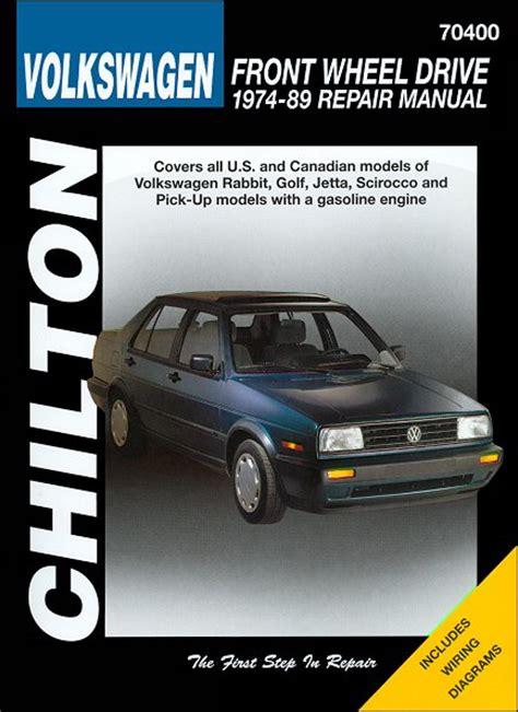 hayes car manuals 1989 volkswagen fox spare parts catalogs vw golf jetta rabbit scirocco repair manual 1974 1989 chilton