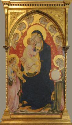 sano di pietro madonna in trono col bambino siena