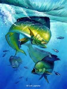 Saltwater Game Fish Paintings