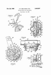 Patent US3406587 Bicycle gear shift mechanism Google