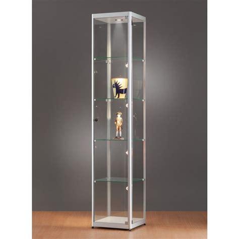 vitrinas autoportantes en vidrio  aluminio  cm