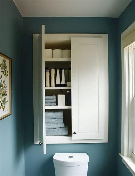 bathroom built in storage ideas 26 simple bathroom wall storage ideas shelterness