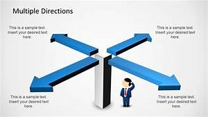 Multiple Directions Powerpoint Diagram With Arrows