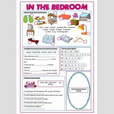 In The Bedroom Vocabulary Exercises Worksheet  Free Esl Printable Worksheets Made By Teachers