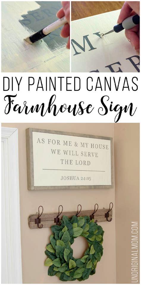 farmhouse sign diy ideas   inexpensive