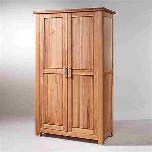 Kleiderschrank 120 Cm : kernbuche kleiderschrank massiv ge lt 120 cm breit alles ~ Indierocktalk.com Haus und Dekorationen
