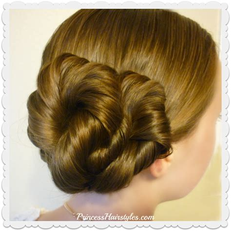 Easy Princess Hairstyles For by Easy Twist Updo Hairstyle Hairstyles For