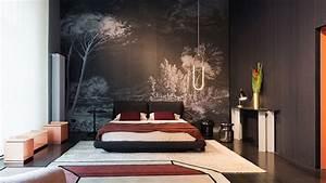 wall deco tapeten grunbeck einrichtungen wien With balkon teppich mit tapete wald
