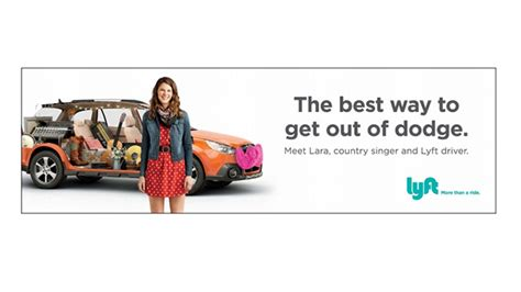 Lyft Runs First Integrated Ad Campaign In Denver And San