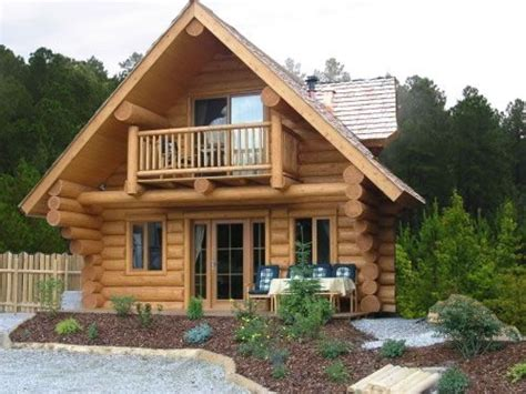 Small Log Homes Design