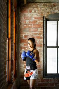 local fighter and fitness model makes waves in muay
