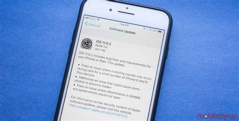 apple iphone update apple drops ios 11 0 2 update that fixes iphone 8
