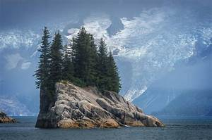 Nature, Landscape, Water, Rock, Trees, Mountain, Snow, Island, Norway, Wallpapers, Hd, Desktop