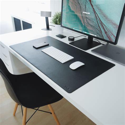 Office Desk Mat by Leather Desk Mat Black Products Desk Workspace Desk