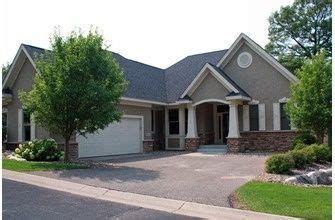 shaped house  attached garage visit houseplanscom   craftsman style house plans