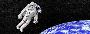 Astronaut Floating In Outer Space Digital Art by Elena ...