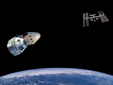 NASA, Boeing, and SpaceX to Launch 1st Commercial Crew ...