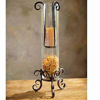 wrought iron candle holder Pictured here is the Wrought Iron Siena Floating Candle Holder by Bella Toscana