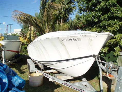 Boat Hull Project For Sale by Sold Rone 25 Project Boat The Hull Boating