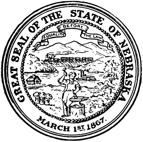 Image result for state of nebraska seale