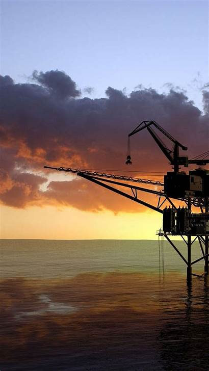 Oil Rig Wallpapers Offshore Platform Iphone Cave