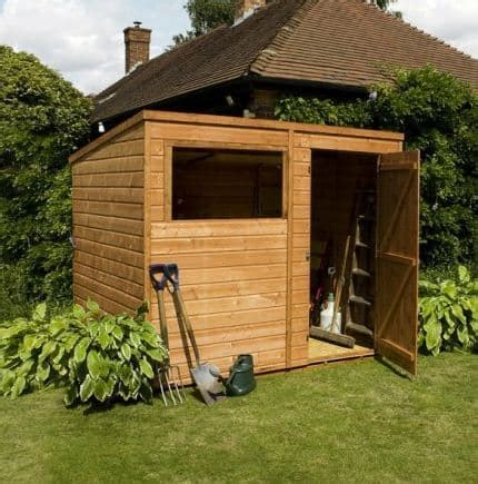 single door tongue  groove pent shed