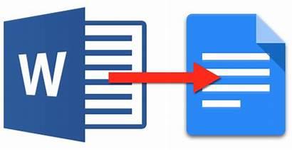Docs Google Chromebook Word Drive Documents Convert
