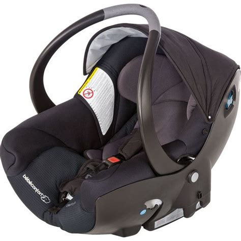 installation siege auto bebe bebe confort coque creatis fix total black achat