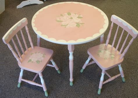 shabby chic childrens table and chairs 83 best images about very vtg kitchen tableschairs kid 39 s