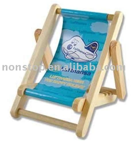 wooden mobile phone desk deck chairs holder view wooden