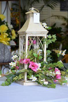 floral arrangements  white lantern google search