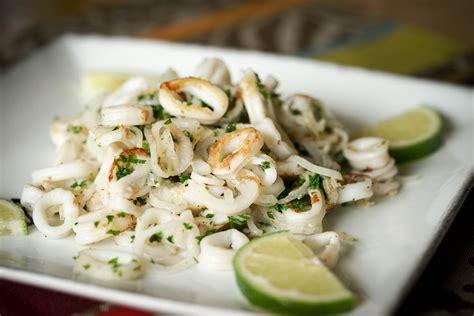 cuisine encornet persillade d 39 encornets à la plancha recette de calamars