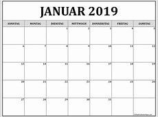 Januar 2019 kalender kalender 2019
