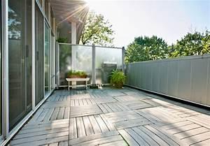 sichtschutz fur den balkon seitlich ansprechend With feuerstelle garten mit sonnenschutz balkon ohne dach