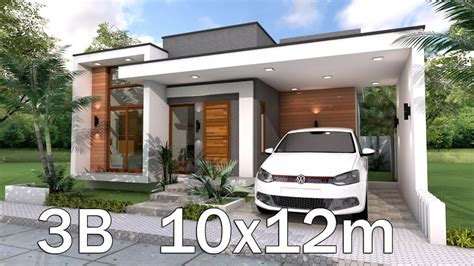 modern home plan xm   bedrooms youtube