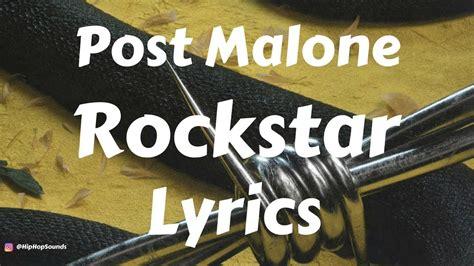 Rockstar (lyrics / Lyric Video) Ft. 21