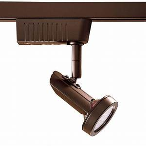 Light oil rubbed bronze cinema led track lighting