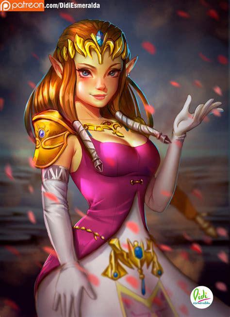 Princess Zelda by DidiEsmeralda on Newgrounds