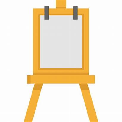 Easel Transparent Background Icon Svg Vector Canvas