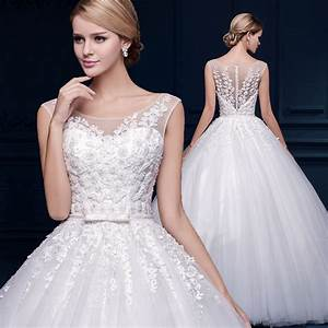 2016 white vintage lace wedding dresses high waist wedding With high waist wedding dress
