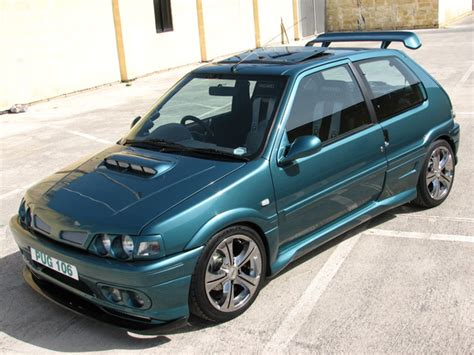 Justin106xt 1995 Peugeot 106 Specs, Photos, Modification