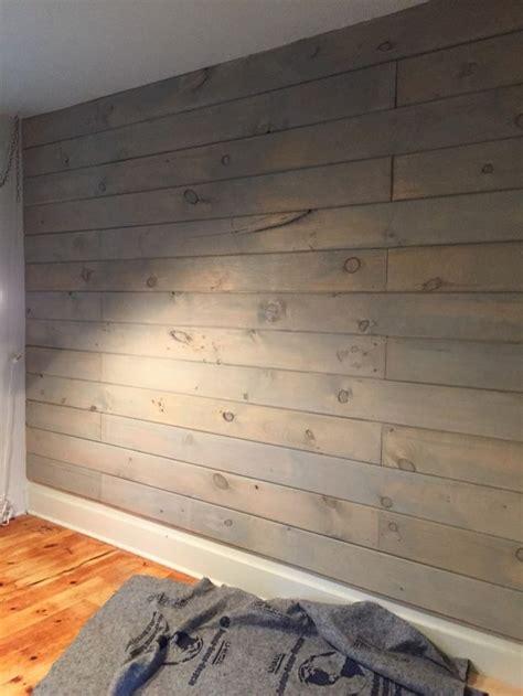 stained shiplap ideas  pinterest wood walls