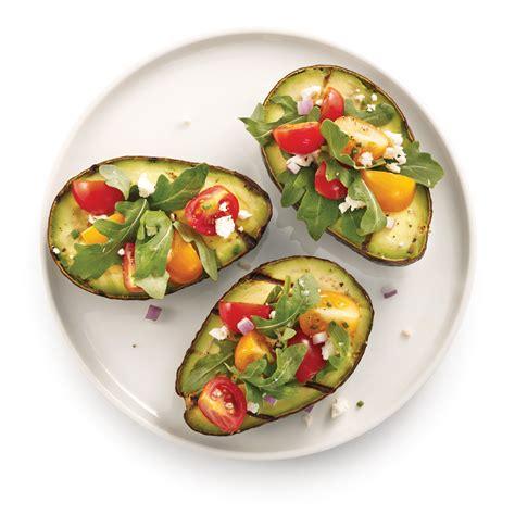cuisine avocat salade d 39 avocats grillés recettes cuisine et nutrition