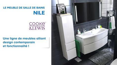 meuble de salle de bains nile cooke lewis  castorama youtube
