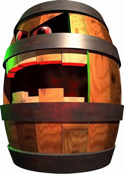 Donkey Kong Country Belcha Bosses Artwork Barrels