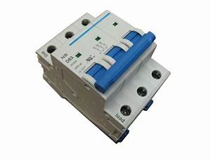 1 Amp 3 Pole Din Rail Mount Circuit Breaker Ul 208  230