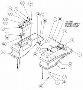 Gas Tank  U0026 Control Panel Assembly
